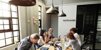 aranżacja przestrzeni biurowych