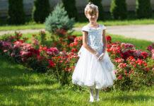 komunijna sukienka